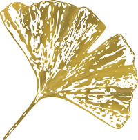 Gingkoblatt, Wiedererkennungssymbol der Seite Janine Dias, Paartherapeutin und Beziehungscoach